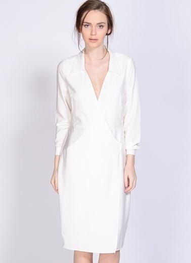 Neon Rose Neon Rose Elbise Beyaz